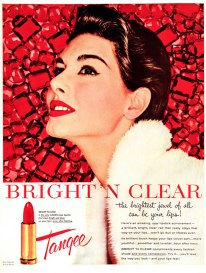 vintage ad tangee red lipstick via lee sutton flickr