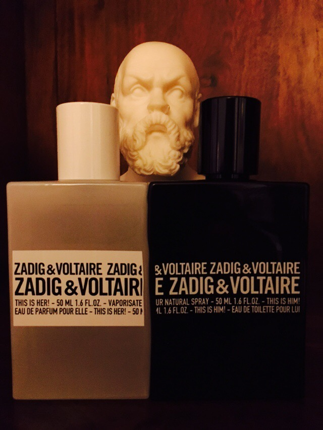 Zadig&Voltaire, This is her!, This is him! Och min kära Sokrates.