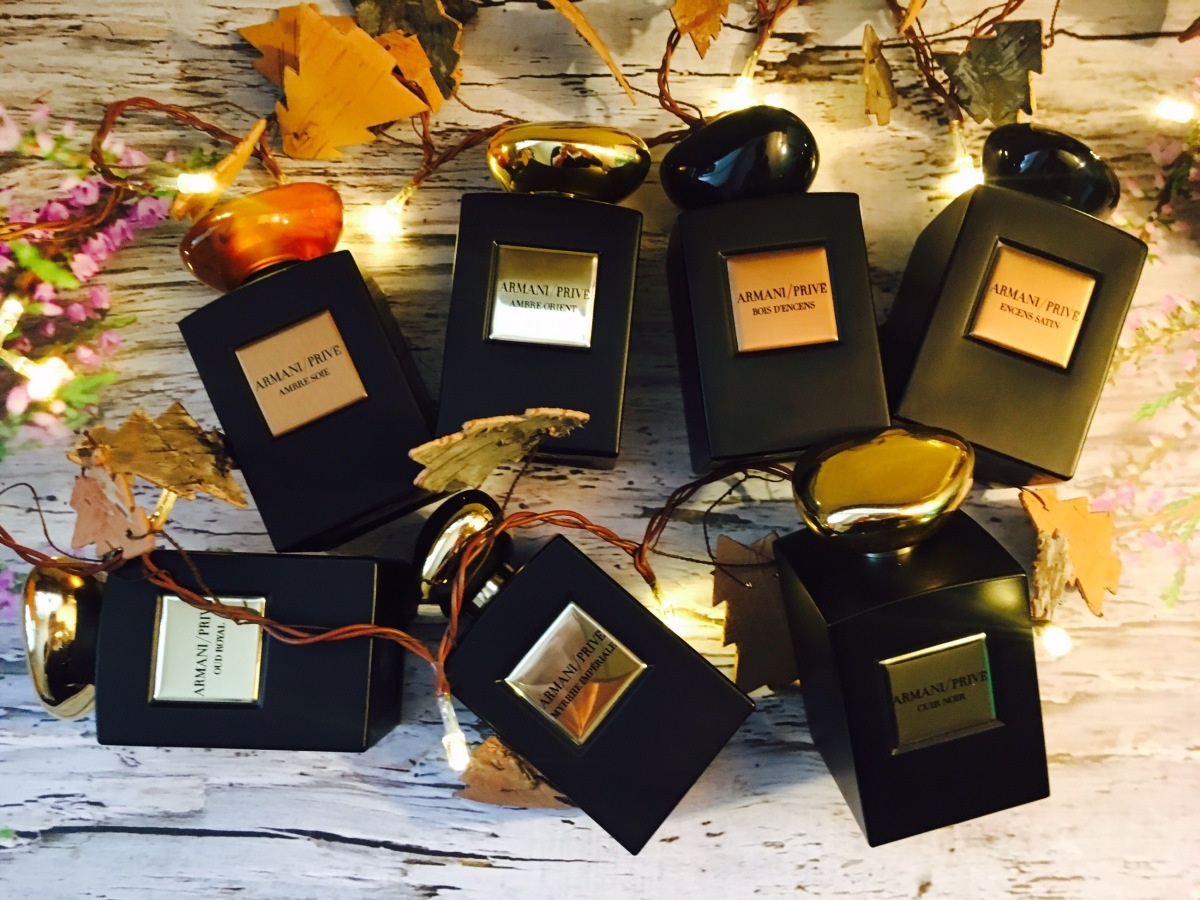 Min parfymkollektion - hösten 2016