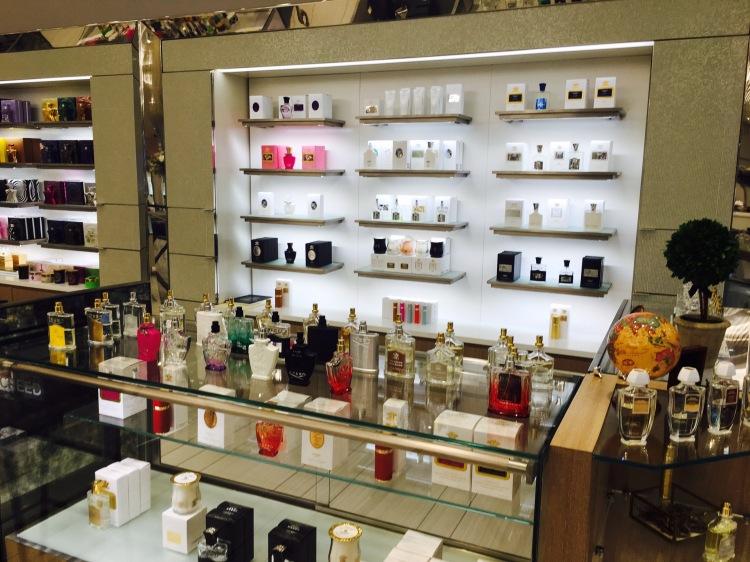 Creed, Saks Fifth Avenue, The Mall of San Juan