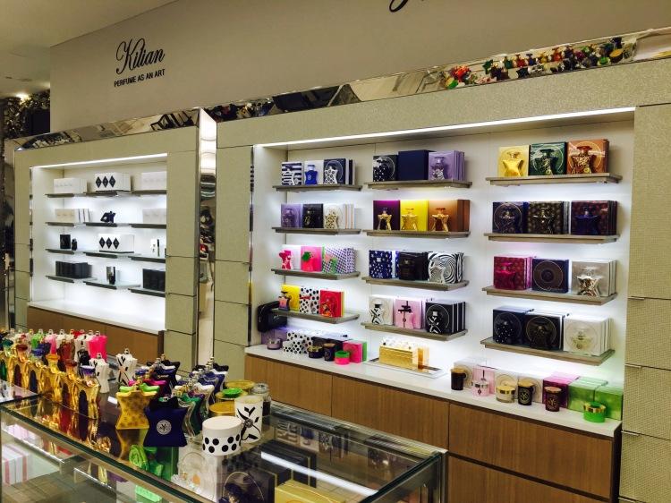 Kilian och Bond no 9, Saks Fifth Avenue, The Mall of San Juan