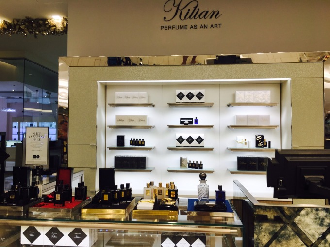 Kilian, Saks Fifth Avenue, The Mall of San Juan