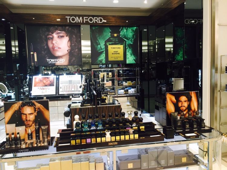 Tom Ford, Saks Fifth Avenue, The Mall of San Juan