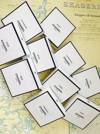 Underbara minisar från Chanel Les Exclusifs