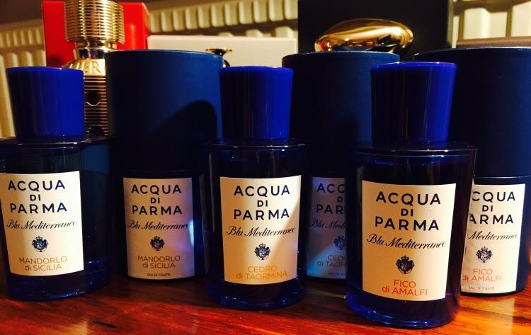 Acqua di Parma, Mandorlo di Sicilia, Fico di Amalfi, Cedro di Taormina