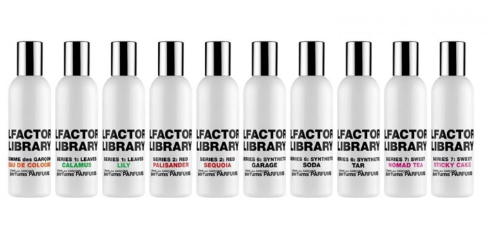 Comme des Garcons Olfactory Library
