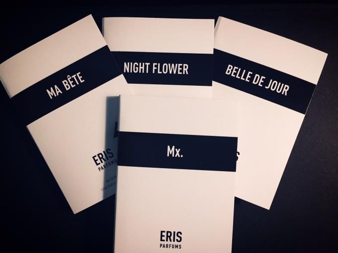 Eris Parfums, sample set