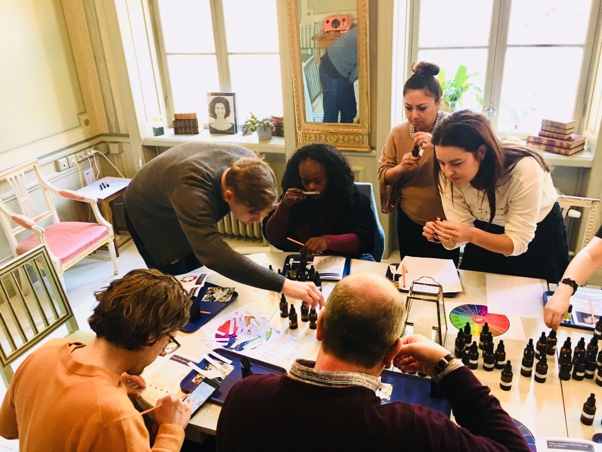 Vilken trevlig lördag med härliga workshop-deltagare!