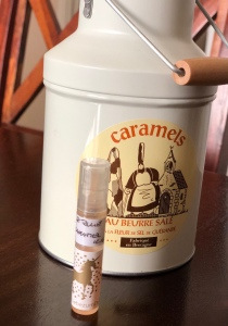 Salt Caramel, Shay & Blue, sample