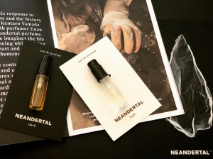 Neandertal Perfumes, Light & Dark samples