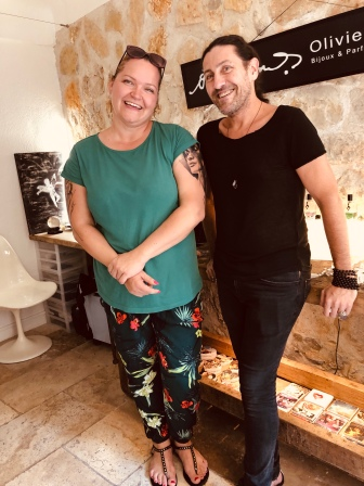 Jag och Olivier Durbano